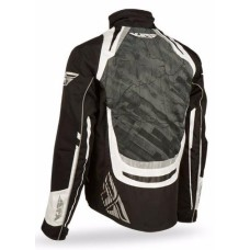 Куртка зимняя ATV/снегоход FLY RACING SNX PRO (2015) черная/желтая L