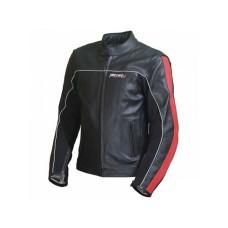 Куртка мотоциклетная (кожа) Metropolis Lady черно-красное (Размер L) MICHIRU