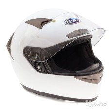 Шлем GSB G-335 white glossy L