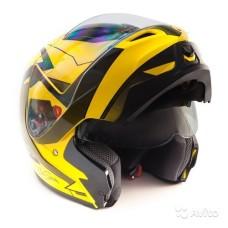 Шлем GSB G-339 yellow black L