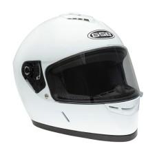 Шлем GSB G-349 white glossy L