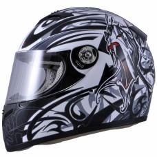 Шлем (интеграл) MI 166 Черный Тип 17 L MICHIRU (с солнцезащ. стеклом)