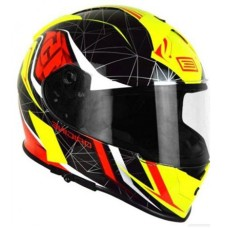 Шлем (интеграл)  Origine GT Raider черный/желтый глянцевый XL