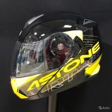 Шлем RT1200 black/yellow L