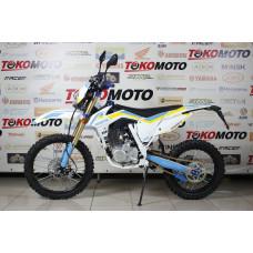 Мотоцикл Avantis A2 (172FMM, возд.охл.) ПТС (Белый/син/желт.)
