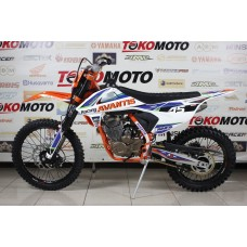 Мотоцикл Avantis А5 (172FMM, возд.охл.,) (Оранжевый/белый)