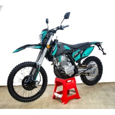 Мотоцикл Avantis A7 Lux (174FMM, вод.охл.) ПТС (Черный)