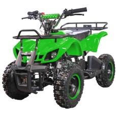 Квадроцикл Avantis ATV Classic mini 49сс 2т (электростартер) Зеленый граффити