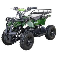 Квадроцикл Avantis ATV Classic mini 49сс 2т (электростартер) Зеленый паук