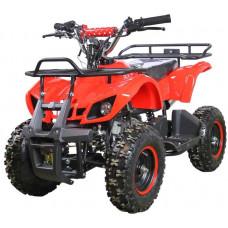 Квадроцикл Avantis ATV Classic mini 49сс 2т (электростартер) Красный паук