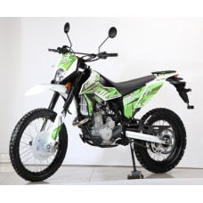 Мотоцикл Avantis Dakar 250 (TwinCam 170 MM, вод.охл.) FA 2020 (Зеленый)