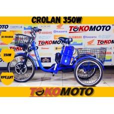 Трицикл CROLAN 350W Синий