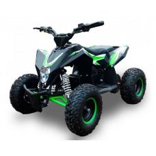 Квадроцикл Motax Геккон 70сс бело-зеленый