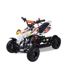 Мини-квадроцикл MOTAX ATV H4 mini бело-оранжевый