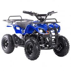 Детский квадроцикл MOTAX X-16 Электростартер (Большие колеса) Синий