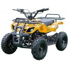 Детский квадроцикл MOTAX X-16 Электростартер (Большие колеса) Желтый камуфляж