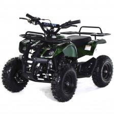 Детский квадроцикл MOTAX X-16 Электростартер (Большие колеса) зеленый камуфляж