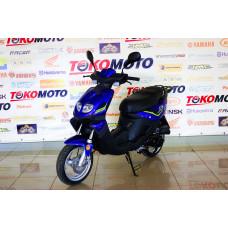 Мопед Racer RC50QT-3X Jog синий