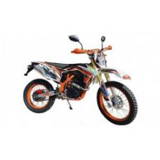 Мотоцикл кроссовый Sport-007 оранжевый
