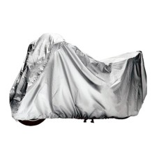 Чехол на мотоцикл M для гаражного хранения серый АвтоХранитель
