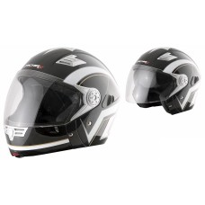 Шлем (интеграл) MI 190 Черно-белый M MICHIRU
