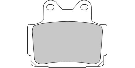 Тормозные колодки FDB386P