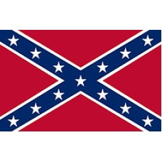 Значок байкерский Флаг Конфедерации