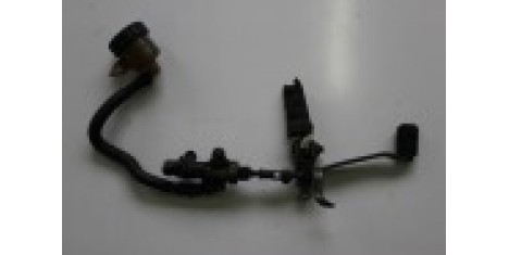 Подножка пассажирская левая с кронштейном Yamaha Zeal