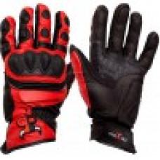 Мото перчатки MadBull рейсинговые R5 красные XXL