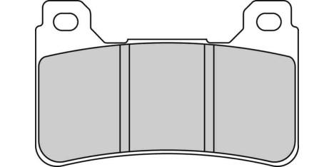 Тормозные колодки FDB2181ST