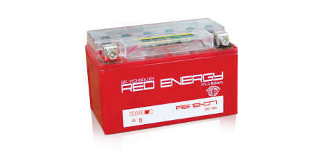 RE 12-07 Red Energy Аккумуляторная батарея 118х73х138