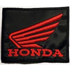 """Шеврон """"Honda"""" большой"""