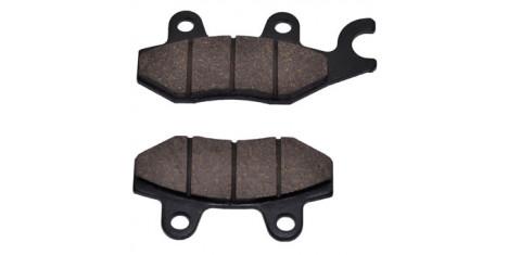 Колодки тормозные дисковые (с ухом) NIRVANA,  VOLCAN, Z50R