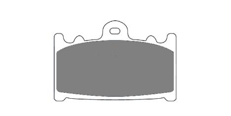 Тормозные колодки FDB574P