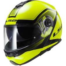 Шлем FF325 STROBE CIVIK HI-VIS YELLOW BLACK XL
