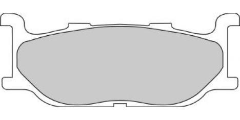 Тормозные колодки FDB781P