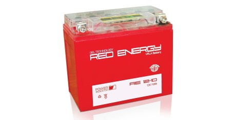 RE 12-10 Red Energy Аккумуляторная батарея 155х90х105