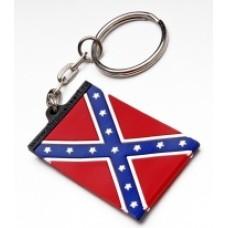 """Брелок резиновый """"Флаг Конфедерации"""""""
