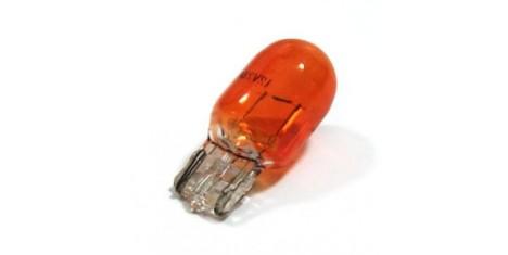 Лампа 12V10W (с цоколем, белая, оранжевая) павлик