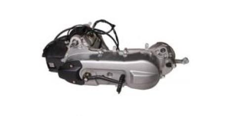 Двигатель в сборе 2Т 50см3 (веломотор)