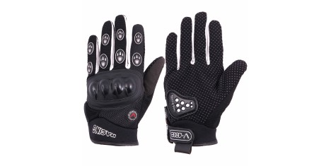 Перчатки V002 black L