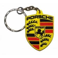 """Брелок резиновый """"Porsche"""""""
