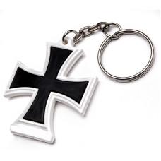"""Брелок резиновый """"Железный Крест"""""""