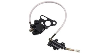 Тормоз дисковый задний в сборе (ножной) TTR125