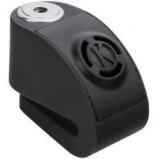 Замок диск. тормоза с сигнализацией KOVIX KD6-BK (d-6мм) черный
