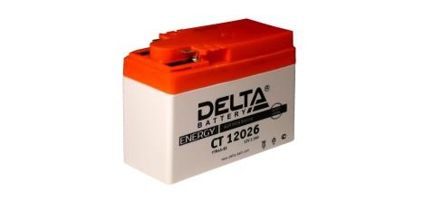 CT 12026 DELTA Аккумуляторная батарея 114/49/86