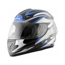 Шлем (интеграл) MI 160 черно-серебристый L MICHIRU