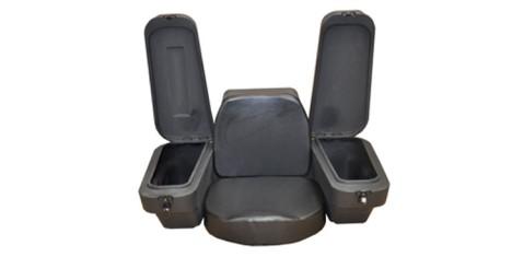 Кофр для ATV задний со спинкой и сиденьем SD1-R40  43л