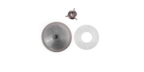 Наружный шкив+крыльчатка+шайба  4T двиг.139QMB 50сс SCOOTER-M