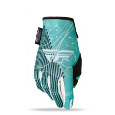Перчатки FLY RACING KINETIC LADY синие/белые (2015) XL